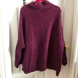 Free People Slouchy Cozy Sweater sz M